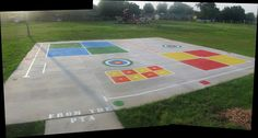 Peaceful Playgrounds | Recess Doctor Blog: playground stencils