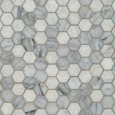 Hexagon Bianco Carrara | Artistic Tile