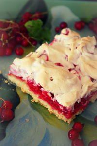 Rezept: Johannisbeer-Kuchen vom Blech mit Rührteig und Baiser Bild Nr. 260