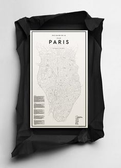 Paris map.