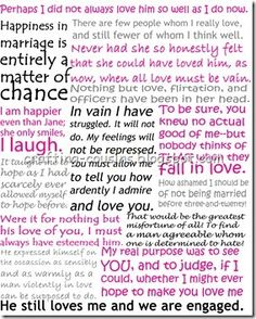 All the best quotes from Pride and Prejudice from Crafty Cousins