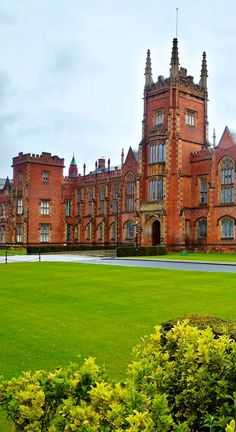 Queens University - Belfast, Northern Ireland-This university is BEAUTIFUL. They have an inner courtyard that is spectacular.