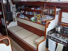 Good Use Of Food Storage Space On A Liveaboard Yacht Crusing Sail Boat