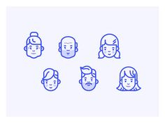 Here are some simple family icon for an internal project. Hope you'll enjoy it !