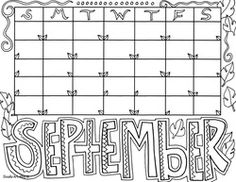 Free printable MonthsoftheYear coloring pages Adult Coloring