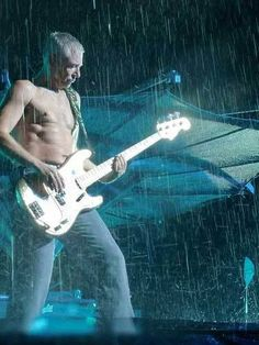 Adam in the rain, Good Lord! Good Lord, Adam Clayton, Rain, Concert, Rain Fall, Concerts, Waterfall