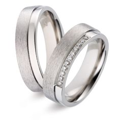 TF 61 | Moderne titanium trouwringen | ItaloDesign Trouwringen