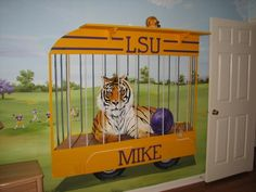 LSU Baby Room.  I wish I knew the name of the artist.