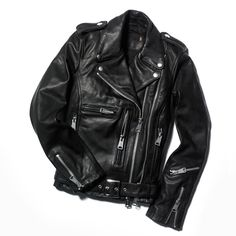 Where would a rock chick be without her  leather biker jacket? I sold mine at a garage sale. Wtf was I thinking?