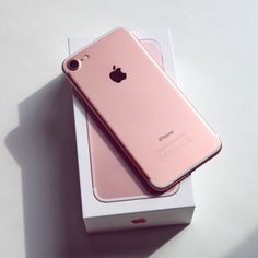 Rose Gold IPhone 7 Plus. It has a great camera and #1 on my wish list! @g