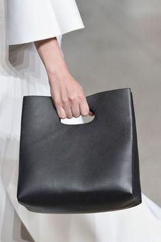 Origami - Best Handbags from New York Fashion Week Spring 2015 - StyleBistro (scheduled via http://www.tailwindapp.com?utm_source=pinterest&utm_medium=twpin)