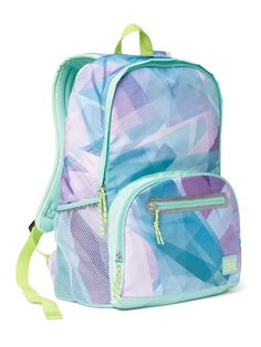 d96344a011 Shop Athleta s Athleta Girl First Bell Backpack  Get ready for the new year  with this lightweight pack that has tons of storage space.