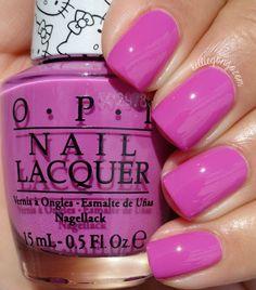 OPI Super Cute In Pink // @kelliegonzoblog