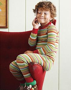 Bring your kiddos in their Christmas PJ's!  Bright and colorful with patterns but not a lot of characters will look best.