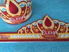 Coroa Elena de avalor para imprimir grátis