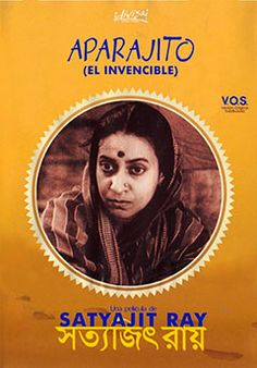 Aparajito ( অপরাজিত / The Unvanquished) is a 1956 Bengali film directed by Satyajit Ray, and is the second part of The Apu Trilogy.