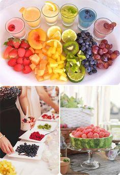 Barra libre de fruta