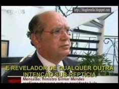 Gilmar gagueja e comete ato falho em entrevista sobre acusação que fez contra Lula