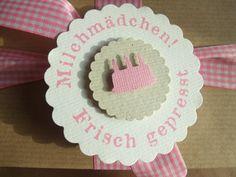 for a baby girl. www.facebook.com/daspapierlabor www.daspapierlabor.de