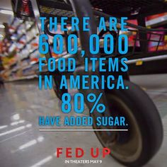 "Documentary :""Fed Up"" if you are concerned about the good health of you and your children - family. Sugar and Big Money and the harm it is doing to you.  post at Kalyn's Kitchen"