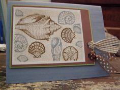 using Stampin Up Stipple Shells