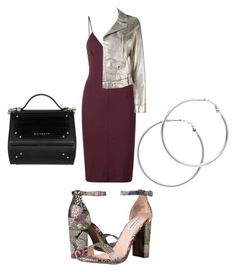 """""""Sans titre #102"""" by lelepog ❤ liked on Polyvore featuring T By Alexander Wang, Steve Madden, RED Valentino, Givenchy and Melissa Odabash"""