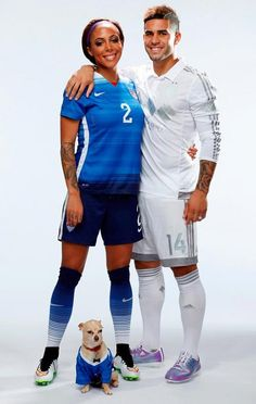 Sydney Leroux and Dom Dwyer