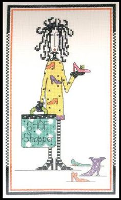 Dolly Mama's Shoe Shopper