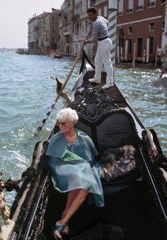 Peggy Guggenheim. Tony Vaccaro, 1968