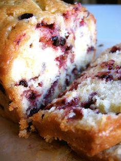 The Bojon Gourmet: Lemon Huckleberry Tea Cake
