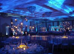 Event Lighting at the Ocean Place Resort