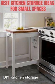 Small Kitchen Storage, Small Space Kitchen, Kitchen Tops, New Kitchen, Kitchen Decor, Small Spaces, Kitchen Ideas, Cocina Diy, Home Interior
