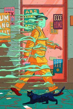 Freedom on behance pop art wallpaper, illustration story, freedom drawing, freedom artwork, Art And Illustration, Illustrations, Watercolor Illustration, Art Pop, Psychedelic Art, Pop Art Wallpaper, Acid Art, Stoner Art, Hippie Art