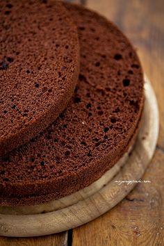 Biszkopt genueński czekoladowy - Moje wypieki