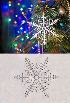 Best 12 Ela Klementowicz's media content and analytics – SkillOfKing.Com – SkillOfKing. Lace Christmas Tree, Crochet Christmas Ornaments, Christmas Crafts For Gifts, Christmas Snowflakes, Crochet Snowflake Pattern, Crochet Motif Patterns, Crochet Snowflakes, Crochet Lace, Snowflake Garland