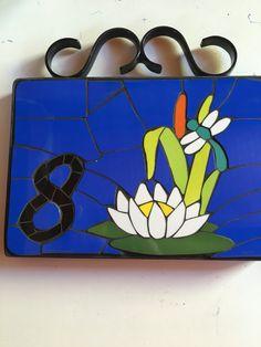 Flor de loto, numero de casa