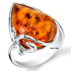 Amber Ring, Amber Jewelry, Jewelry Gifts, Topaz Jewelry, Craft Jewelry, Cheap Jewelry, Silver Jewellery, Crystal Jewelry, Silver Earrings