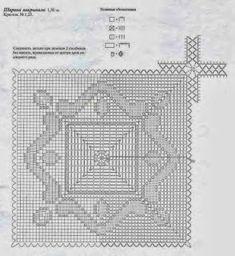 Uncinetto la mia Vera Passione: Copriletto con grandi quadrati