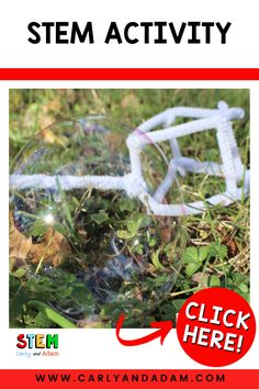 Can your students design a bubble wand? For this STEM Challenge, students are asked to design a bubble wand that makes the biggest bubbles. #STEM #STEMchallenge Stem Teacher, Next Generation Science Standards, Bubble Wands, Stem Challenges, Stem Activities, Fun Learning, Bubbles, Students, Lesson Plans