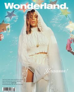 Kim Kardashian covers Wonderland magazine