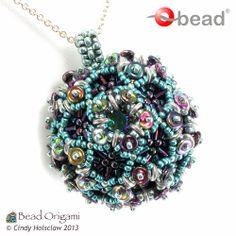 Bead Origami: New Pattern and Kits: Magic O Ball