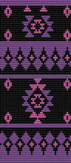 Tapestry Crochet Patterns, Bead Loom Patterns, Crochet Stitches Patterns, Crochet Chart, Beading Patterns, Cross Stitch Patterns, Native Beadwork, Native American Beadwork, Wiggly Crochet