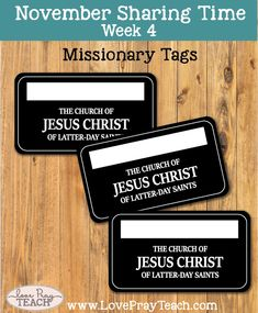 This is an image of Stupendous Missionary Name Tag Printable