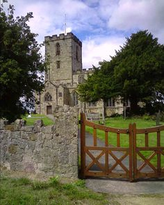 The church of St Mary and St Hardulph, Breedon on the Hill, Leicestershire, England. The church contains one of England's  largest collections of Saxon carvings, dating from the 8th to 10th centuries.