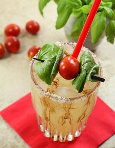margarita-caprese-margarita Cheers, New Recipes, Favorite Recipes, Drink Recipes, Margarita Recipes, Summer Drinks, So Little Time, Delish, Food And Drink