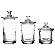 Found it at Wayfair - Apothecary 3 Piece Jar Set