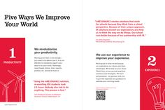 Your Work Improves the World by Holly Mott, via Behance