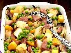 Turnips, swedes and potatoes combine well with gammon steaks in this easy, cheap and warming winter meal.