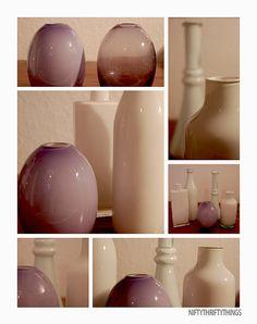 paint a glass vase with oil paint