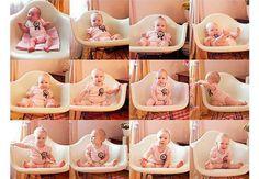 Ideias para registrar o crescimento do bebê - Bebê.com.br